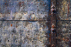 Ancient door (Light Orchard) Tags: italy abstract metal italian italia genoa genova bruceschneider 2014lightorchard