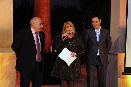 José Miguel Medina, Silvia Soria y Diego Morcillo