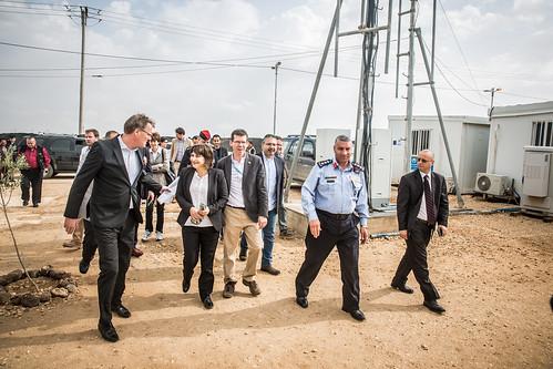 Ploumen bezoekt vluchtelingenkamp Za'atari in Jordanië