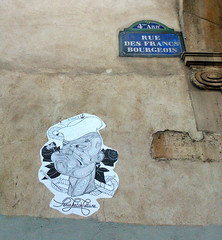 Paris 2015 (Hanoi1933) Tags: paris marine marin navy sailor rue mur parigi claudine 2015 巴黎 パリ parisstreetart париж pariswallart parissketchculture