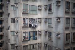 (sobri) Tags: city building hongkong apartments laundry washing