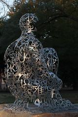 Numbers, Letters & Symbols_4124 (adp777) Tags: letters symbols juameplensa numberssymbolsletters wavesiii davidsoncollegesculpture