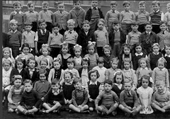 Albert, Glasgow (theirhistory) Tags: uk school girls pee boys socks kids children photo shoes child dress pants sandals group skirt class teacher bow junior trousers jumper shorts form primary peeing wetting