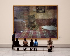 good-morning-America-how-are-you (Frizztext) Tags: museum breakfast cat austria steiermark howareyou goodmorningamerica frizztext museumseries goodmorningamericahowareyou photofunia