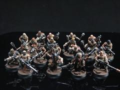 Black Legion Cultists (T Markham) Tags: black chaos spacemarines legion warhammer40k gamesworkshop chaosspacemarines