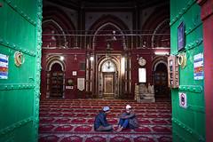 Mosque (Leonid Plotkin) Tags: india shrine asia delhi muslim islam traditional religion mosque tradition sufi sufism newdelhi urs nizamuddin