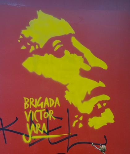 """Brigada Victor Jara"" Paris 2015"