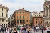 Piazza Bra Arena Palazzo Barbieri  Gran Guardia Verona Italia