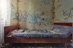 Bed Timing* (klickertrigger) Tags: abandoned photography photo bed bett rust foto fotografie decay urbanexploration dust rost verlassen urbex staub verfall verfallen lostplace stefandietze