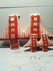 Golden Gate Bridge Plush Back