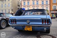 Ford Mustang Convertible Mark I (Mateusz Wołek) Tags: classic cars ford capri fiat citroen triumph april spitfire pontiac mustang corvette iv 19 taunus cinquecento rynek c3 125p 2015 maluch zlot 126p kwietnia pojazdów mikołów samochodów zabytkowych mikołowski