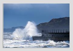 Breaking wave (www.kirsten-berg.com) Tags: power sea seaside yorkshirecoast breakingwave waves wavepower scarborough wave water outdoor coast