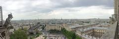 View from Notre Dame (falkmo) Tags: panorama paris sacrecoeur notredame gargoyle toureiffel eiffelturm wasserspeier