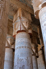 Temple of Abydos (strudelt) Tags: temple egypt column abydos