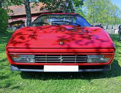 1988 Ferrari 328 GTS (crusaderstgeorge) Tags: red cars italian sweden 1988 ferrari 328 sverige classiccars gts redcars carmeet lvkarleby 1988ferrari328gts crusaderstgeorge