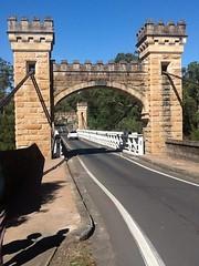 Kangaroo Valley. Fitzroy Falls. (denisbin) Tags: bridge photobooth suspension gothic tudor kangaroovalley hamptonbridge