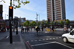 DSC_4413 Great Eastern Street Confusing New Cycle Superhighway Crossing (photographer695) Tags: street new crossing great cycle eastern superhighway confusing