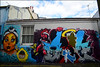 TURKESA AROE (Di's Free Range Fotos) Tags: graffiti brighton turkesa aroemsk