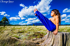 Shawn Gymnast (charyazziephotos) Tags: blue arizona nature muscles clouds canon skies native hiking longhair wideangle son gymnast gymnastics american flagstaff form navajo level5 comanche vsit sacnfox
