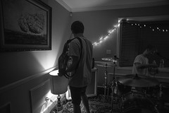 Endless Ocean House Show (M_cicchetti) Tags: ocean show bw house photography li diy concert punk emo endless