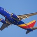 Southwest Airlines Boeing 737-300, latest colors, 2016. DSC_20100