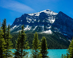 Lake Louise (Travel by WestEndFoto) Tags: travel mountain lake canada flickr natural alberta lakelouise scape export naturephotography landscapephotography agenre fother 20140712 bsubject dgeography flickrjeffpj flickrwestendfotoep flickrtravelbywestendfoto flickrtravelbanff