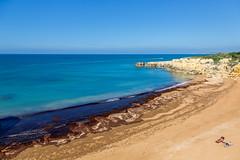 Gale beach patterns (alanrharris53) Tags: sea sun beach portugal sand rocks gale sunbath topless algarve bathers 2016