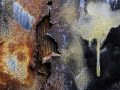 Truck detail, Monroe, CT (Edwaste) Tags: abstract rust decay erosion oxidation corrosion