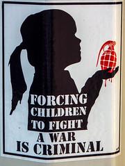 Criminal (Jan Herremans) Tags: france poster soldier child lyon grenade janherremans june2016