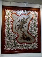 San Miguel Jimn (supernova.gdl.mx) Tags: miguel familia angel mexico san jalisco bandera rosario barro arcangel artesania tonala artesano jimon