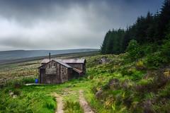 Kerloch Lodge (Neillwphoto) Tags: trees clouds cabin woods aberdeenshire lodge rainy hunter kerloch