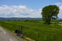 Sunagawa-Fukagawa Cycling Road (side road) (T&W.Eager) Tags: hokkaido sigma cycle  foldingbike merrill foveon takikawa dp2 dp2m dp2merrill ternverge ternbicycle