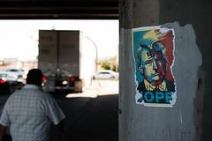 Protest flyer (Max Bousrouil) Tags: bridge texas border protest elpaso trump nope unitedstate elecion canon70d maximebousrouil