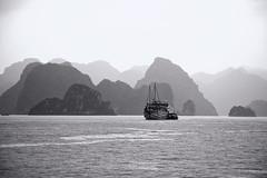 Bay of Legends (tj.blackwell) Tags: halongbay vietnam seascape ocean sea travel world life scenery beautiful fareast cruise karst geology limestone boat ctb mountains tourism cmph vnn