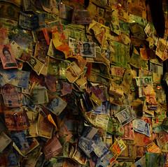 A bit of everywhere (Lívia.Monteiro) Tags: world money wall places traveling países everywhere dinheiro