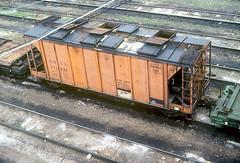 CB&Q Class MW 212928 (Chuck Zeiler) Tags: cbq class mw 212928 burlington railroad sand car freight covered hopper chz chuck zeiler