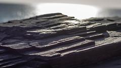Slate Sunset (Edd144) Tags: ocean sunset sea cliff nikon rocks cornwall slate d7100