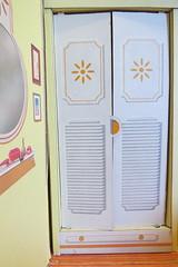 Littlechap Family Room Closet Doors (Foxy Belle) Tags: littlechap den living room family doll closet doors cardboard structure