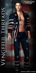 Vengeful Threads - American Pride (Vixn Dagger - Vengeful Threads) Tags: pride american fourthofjuly 4thofjuly americanpride sinfulsunday vengefulthreads sinfulsundaysale