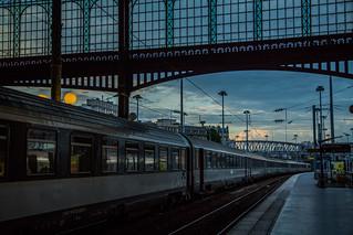 Paris au mois d'août 2014 - Gare du Nord - Ce n'est qu'un au revoir !