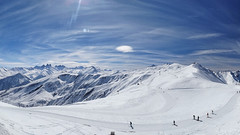 Last day :( (NickyBe) Tags: winter snow france mountains skiing lecorbier lessybelles sonyhx20v