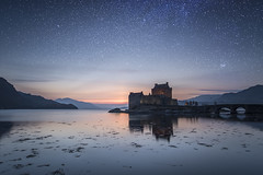 Light & Dark - Eilean Donan. (Simon Owens (1)) Tags: castle landscapes three long scottish loch eilean donan lochs duich