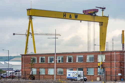 SAMSON AND GOLIATH CRANES IN BELFAST REF-102919