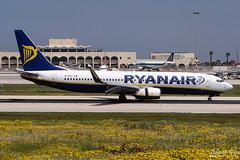 Ryanair --- Boeing 737-800 --- EI-DAC (Drinu C) Tags: plane aircraft aviation sony boeing ryanair dsc 737 mla eidac lmml hx100v adrianciliaphotography