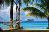 Tahitianprincess and hammock Hotel KIAORA Tahiti Rangiroa (sapphire_rouge) Tags: france lagoon resort tahiti atoll kiaora rangiroa polynesia snorkeling タヒチ franchpolynesia 環礁 ランギロア ポリネシア atool polynésiefrançaise フレンチポリネシア island