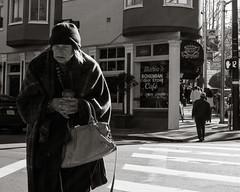 coffee (BECK17) Tags: sanfrancisco street monochrome neighborhood northbeach