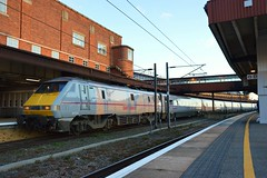 Unbranded Virgin East Coast 91126 at York (Red Train Driver) Tags: york 91 eastcoast