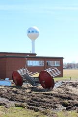 Former Okawville Grade School (plasticfootball) Tags: school playground illinois watertower okawville