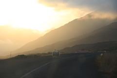 jvegur 1 & sauf (Raphi l'orange) Tags: sunset cloud sun nature landscape soleil iceland sheep coucher east nuage paysage landschaft mouton est islande