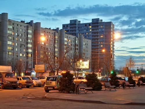 Волгоград, Спартановка, Парк памяти